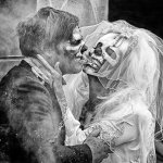 David Simmonds - Zombie Wedding - 2nd - Print Level 2 Monochrome