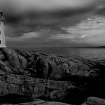 Uliana Yaworsky - Lighthouse At Peggy'S Cove - HM - Digital Advanced Pictorial