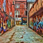 Marty Pinker / MORE GRAFFITI IN THE ALLEY / HM / Print Level 1 Artistic Contemporary