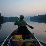 Jack Kozlowski / Canoeing At Dusk At Killarney / 3rd / Digital Beginner Pictorial