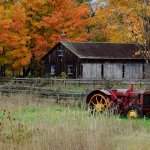 Michael Cutmore / Farm In Fall / 3rd / Digital Beginner Pictorial