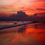 Trish Aleve - Red Florida Sunset - HM - Digital Beginner Pictorial