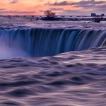 Philippe Lapointe / December Morning At The Falls / 2nd / Digital Intermediate Pictorial