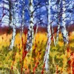 Marty Pinker - The Aspens Of Wards Island - HM - Digital Intermediate Artistic Contemporary