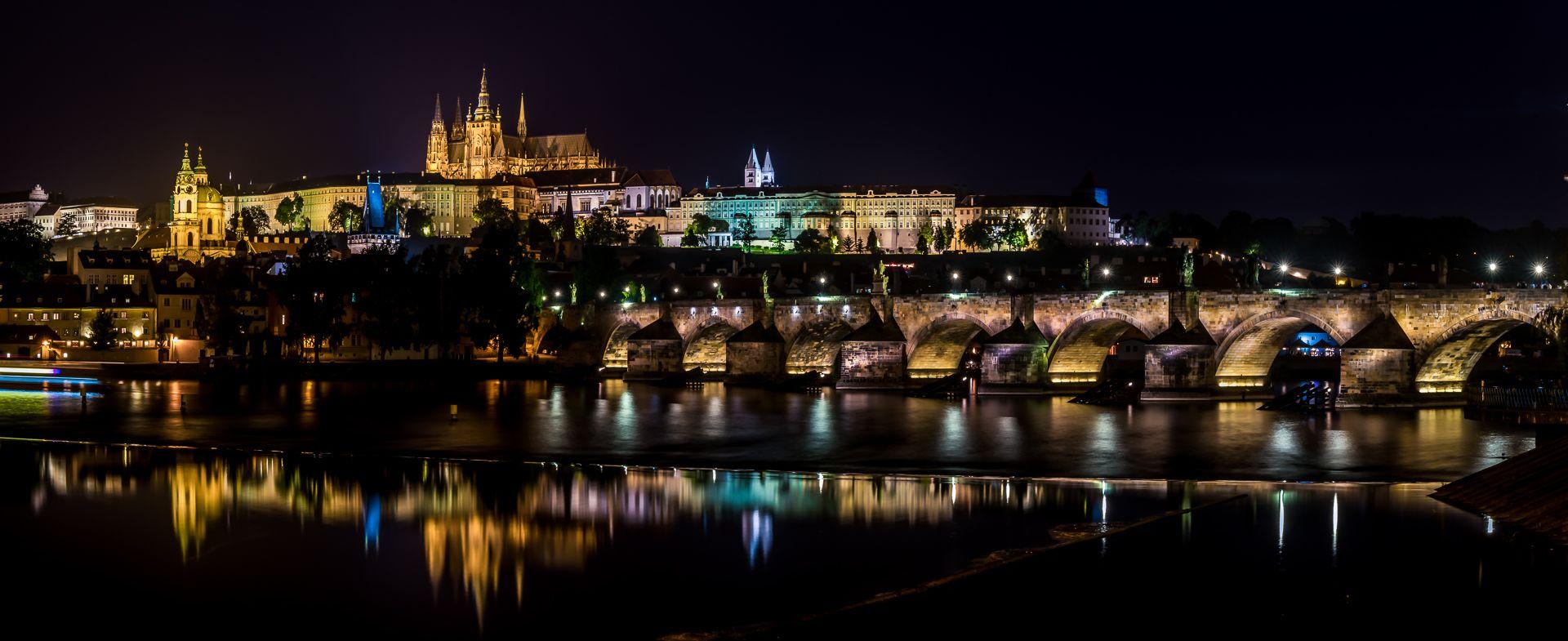 Daniel Poon – Prague Castle Night Pano Night View – 3rd