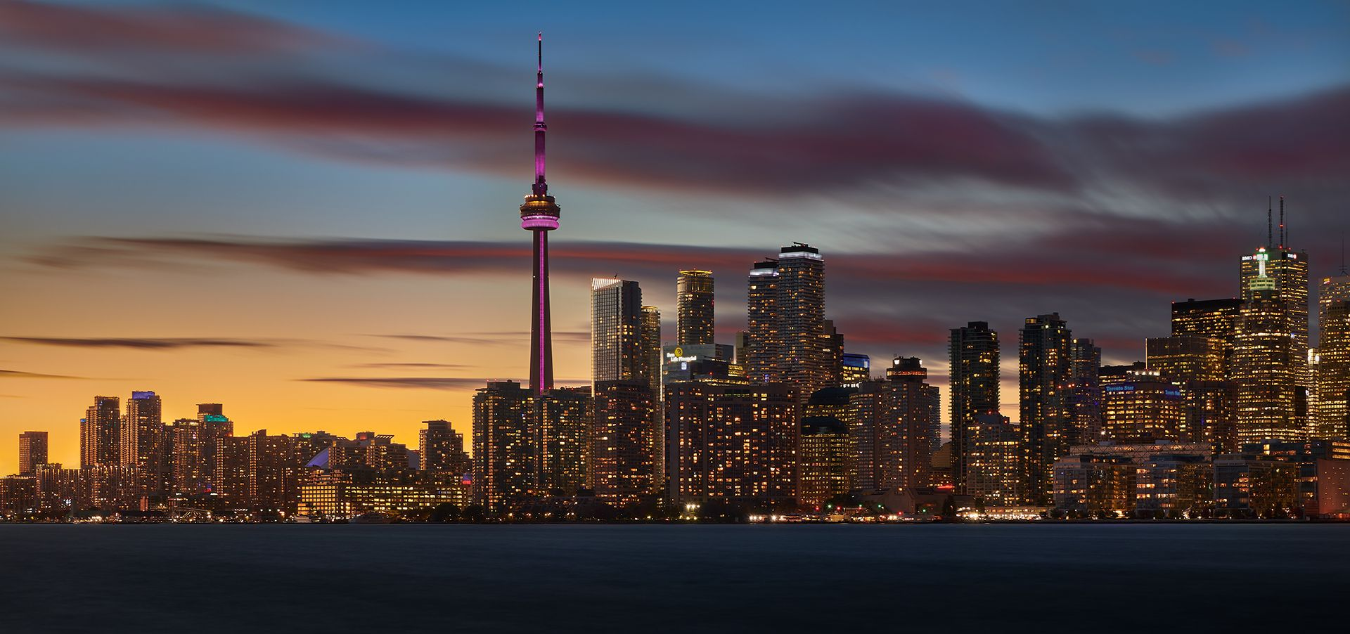 Mike Feraco – Toronto from Wards Island – HM