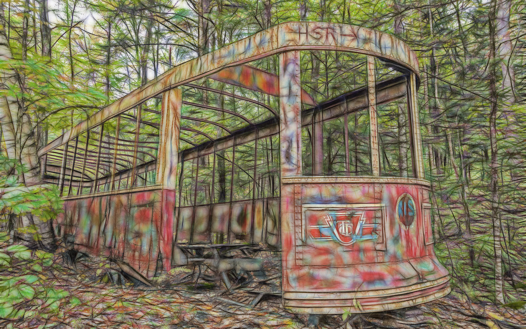 Hilary Ottley – streetcar in the woods – 2ND