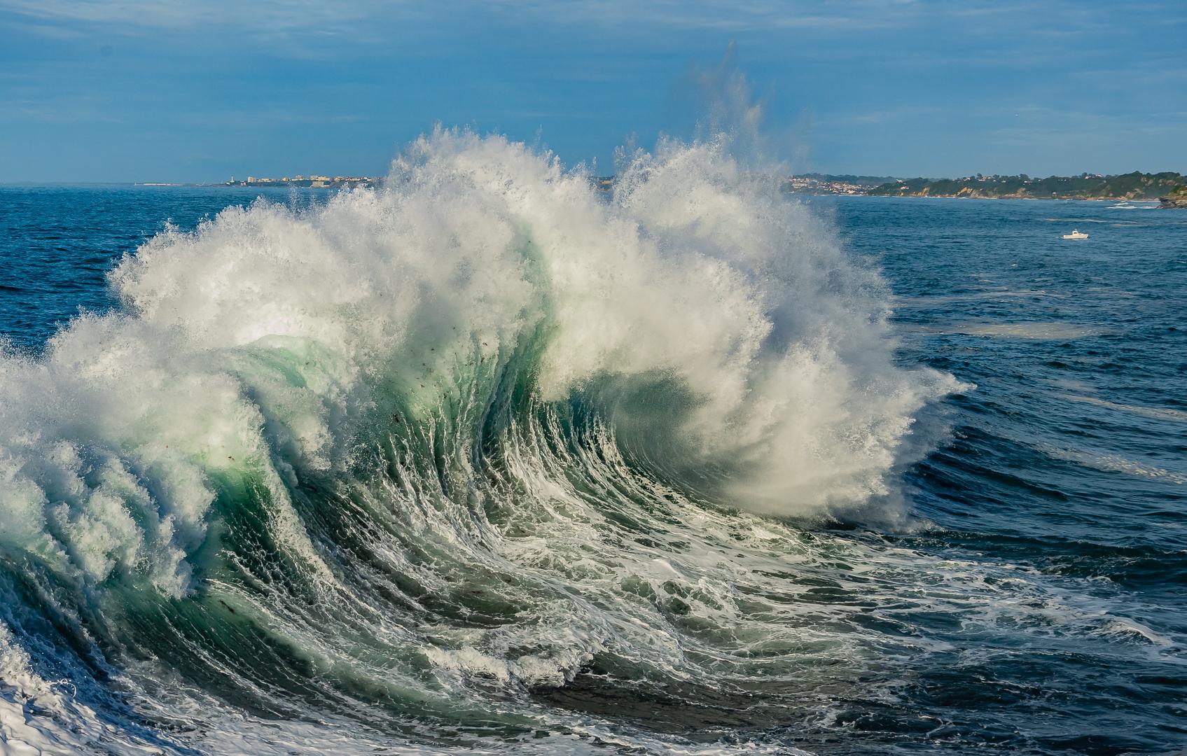 Corinne Baron – Battling the elements – 1ST