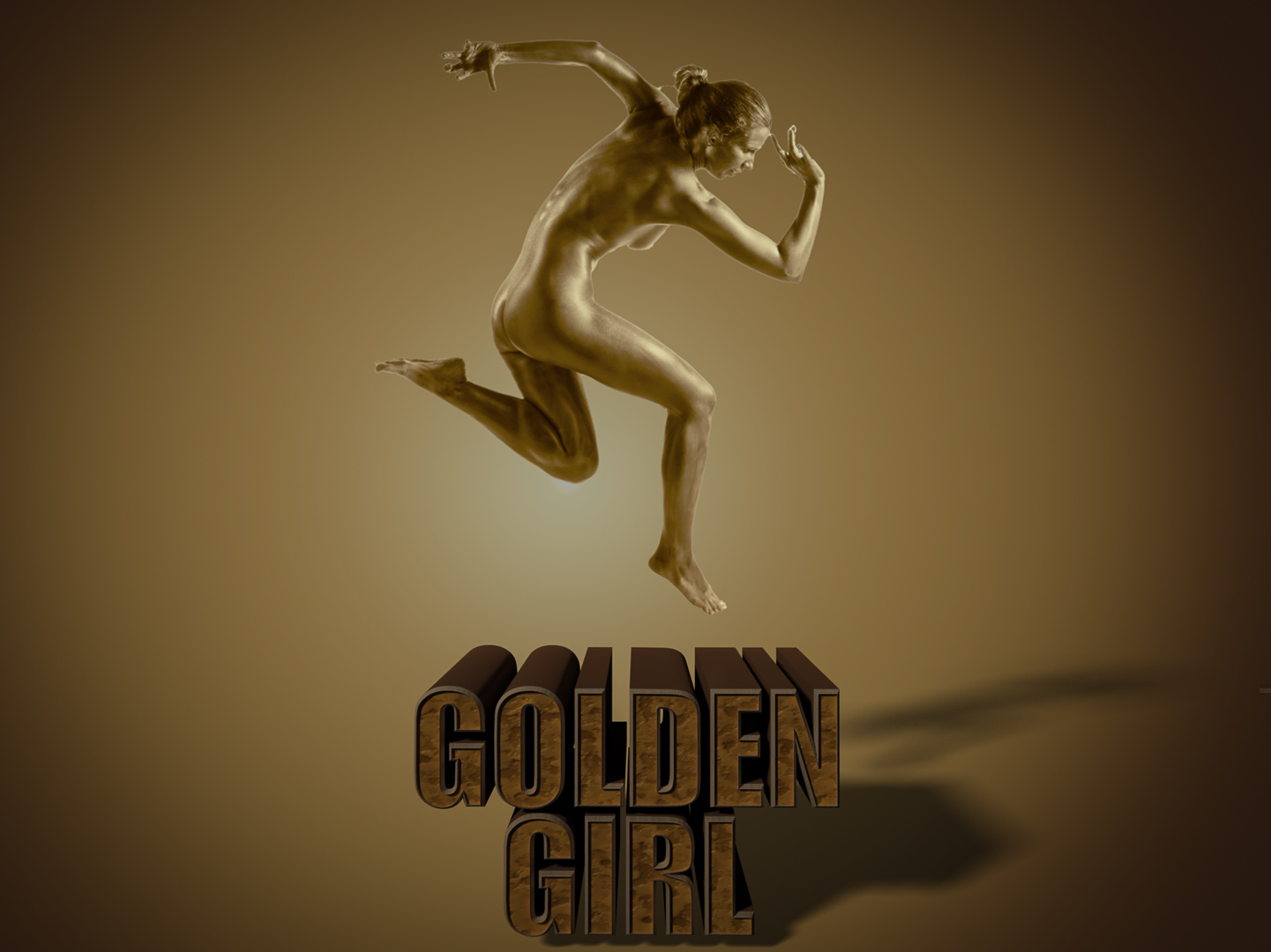 Jon Clarke – Golden Girl – 1ST