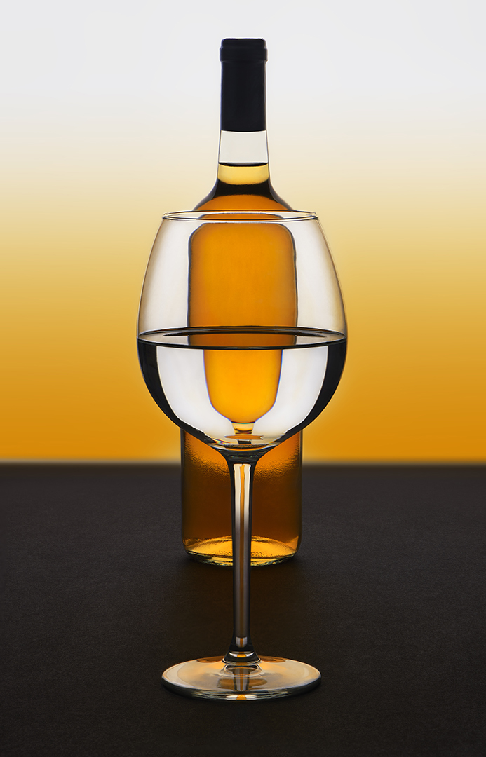 Mike Feraco – Glass and Bottle Still Life – 1ST