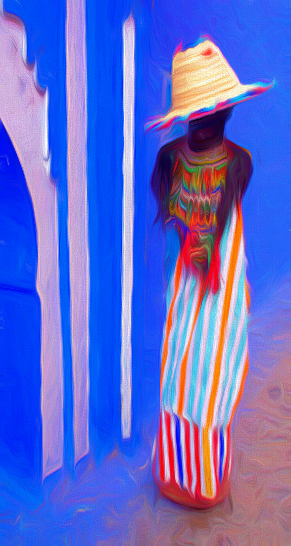 Susan Robertson – Traditional Berber Dress – 1ST