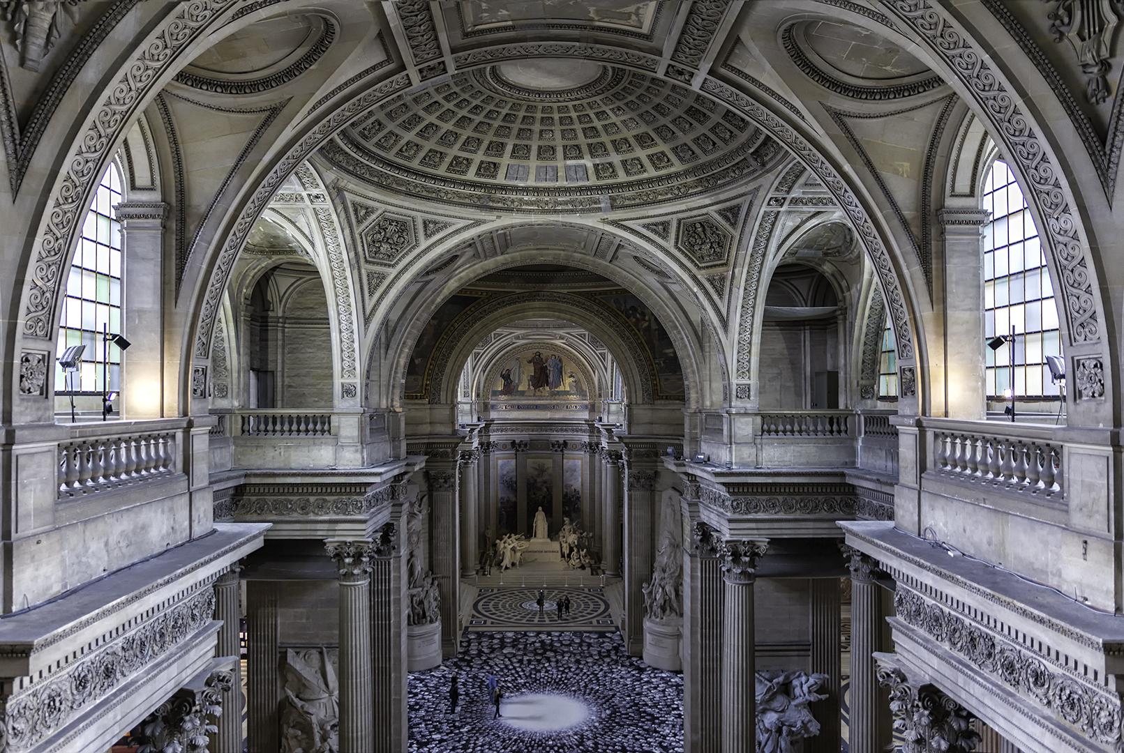 Eros Fiacconi – Pantheon Paris from Above – HM
