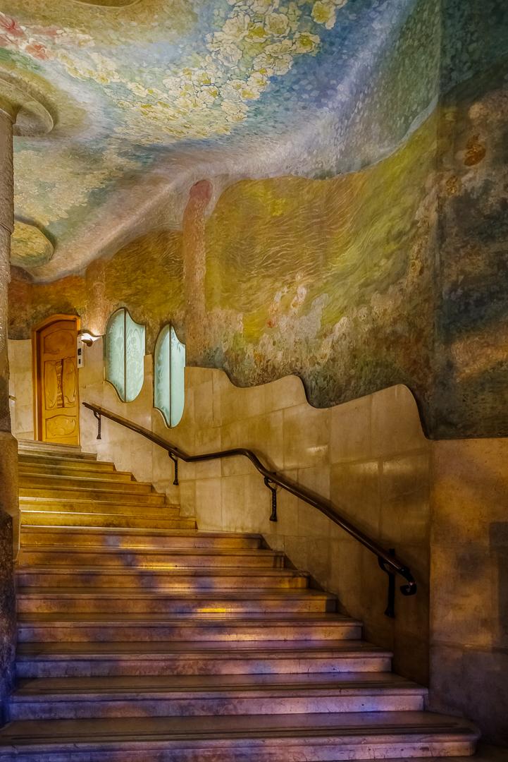 Gerard Baron – Gaudi Staircase Barcelona – 1ST