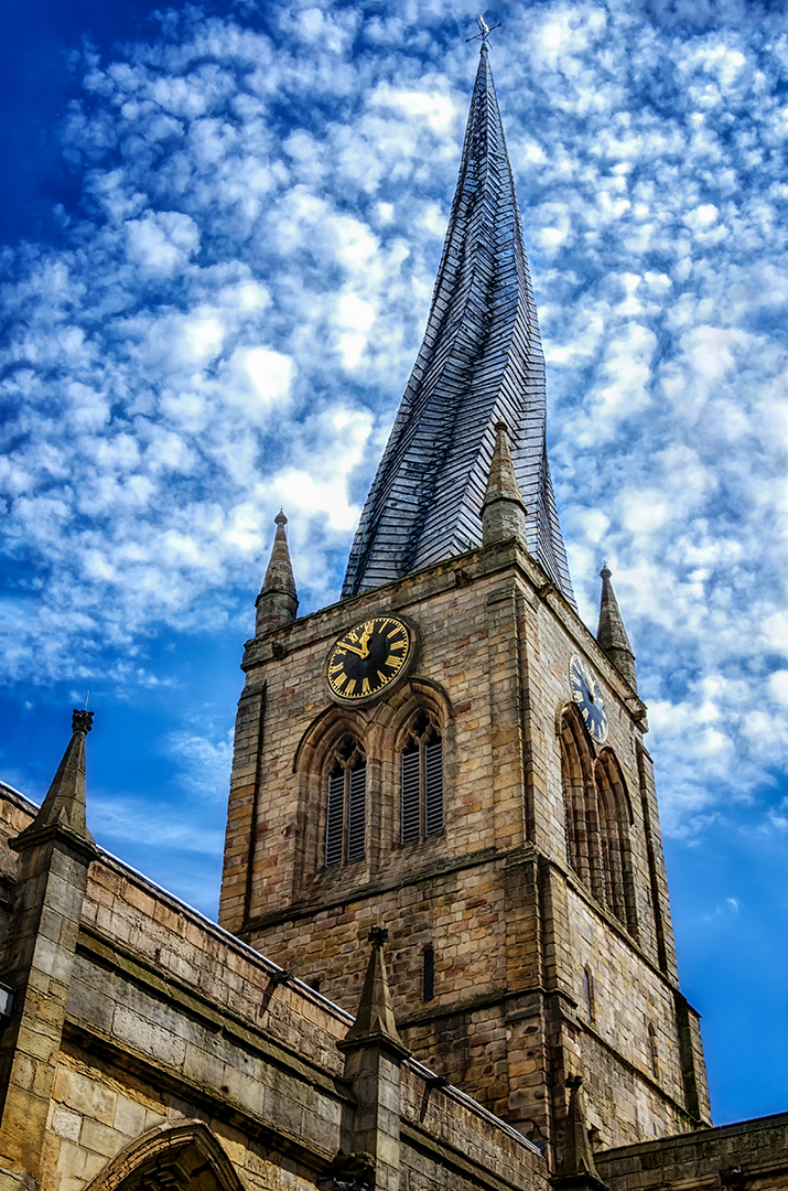 Jim Prieur – Crooked Spire Chesterfield England – 2ND