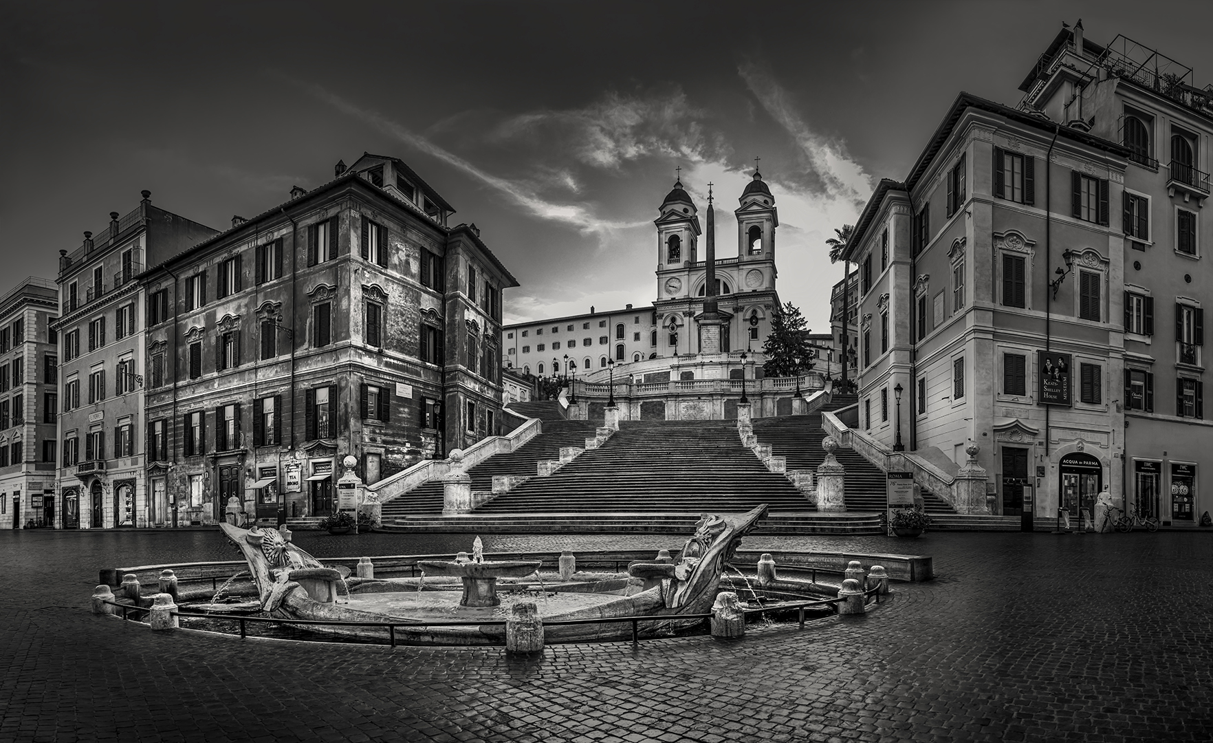 Mike Feraco – Spanish Steps at 5am – HM