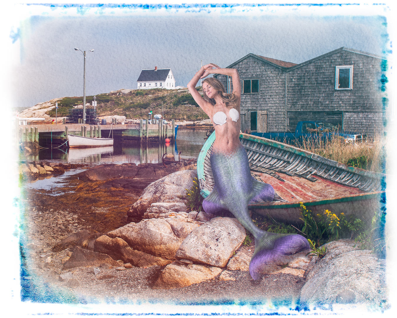Jon Clarke – Peggys Cove Mermaid – HM